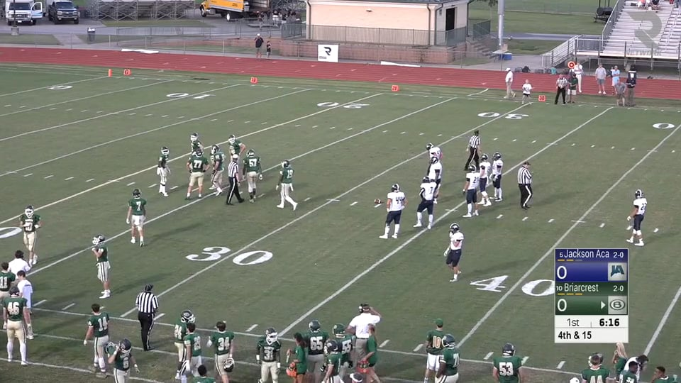 Varsity Football-2016-Game3-Briarcrest