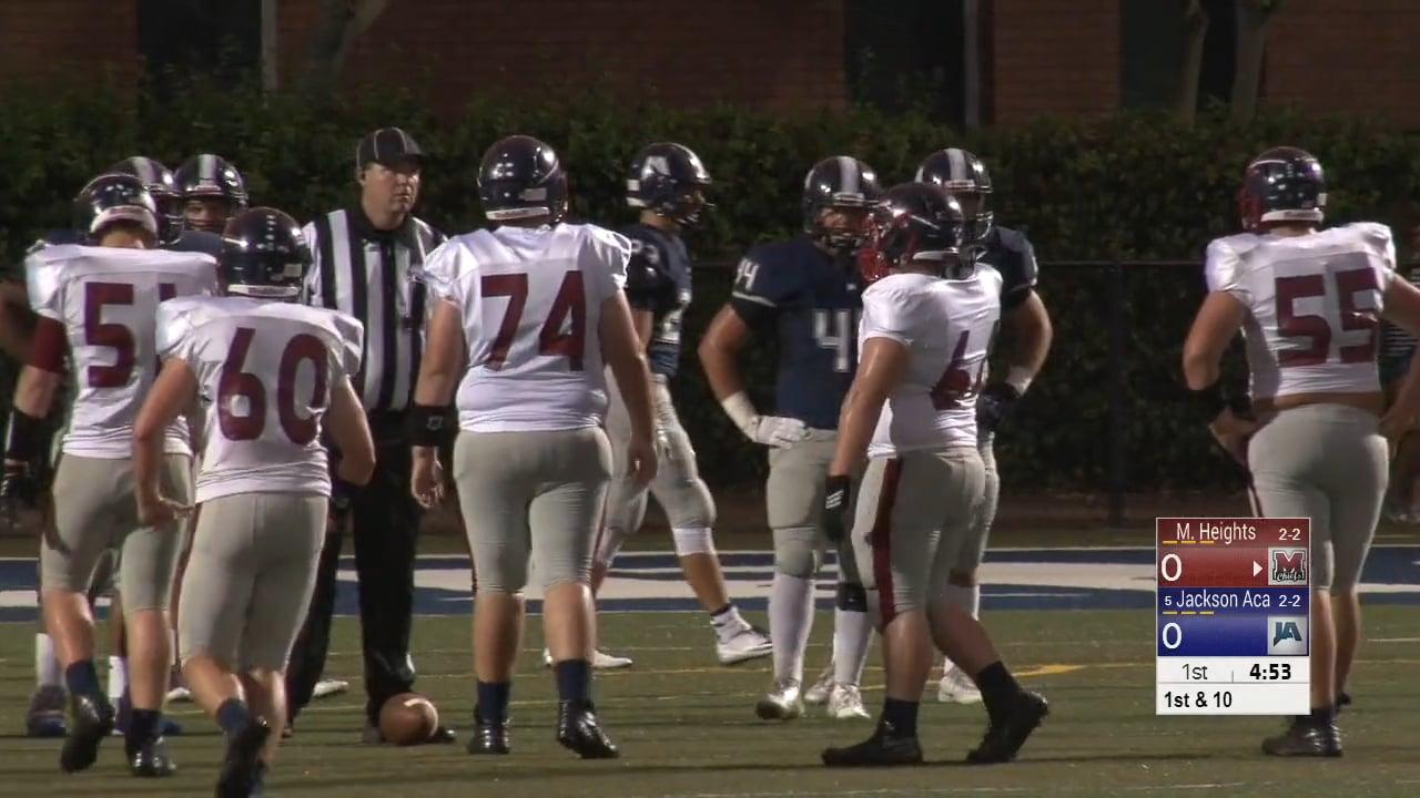 Varsity Football-2016-Game5-Magnolia Heights