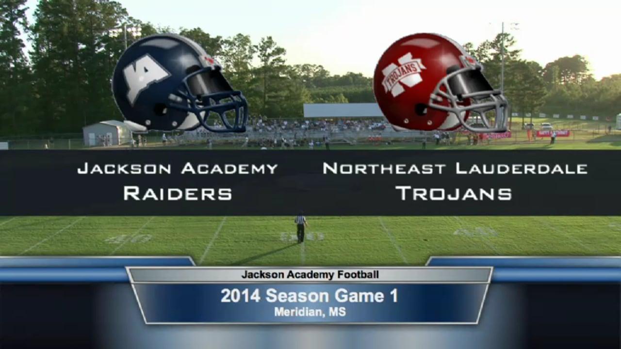 Varsity Football-2014-Game1-NE Lauderdale