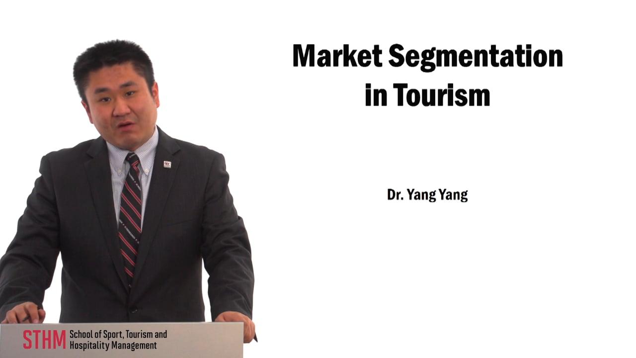 59723Market Segmentation in Tourism
