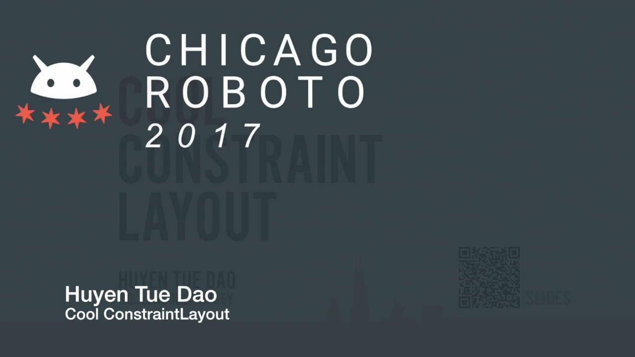 Huyen Tue Dao - Cool ConstraintLayout