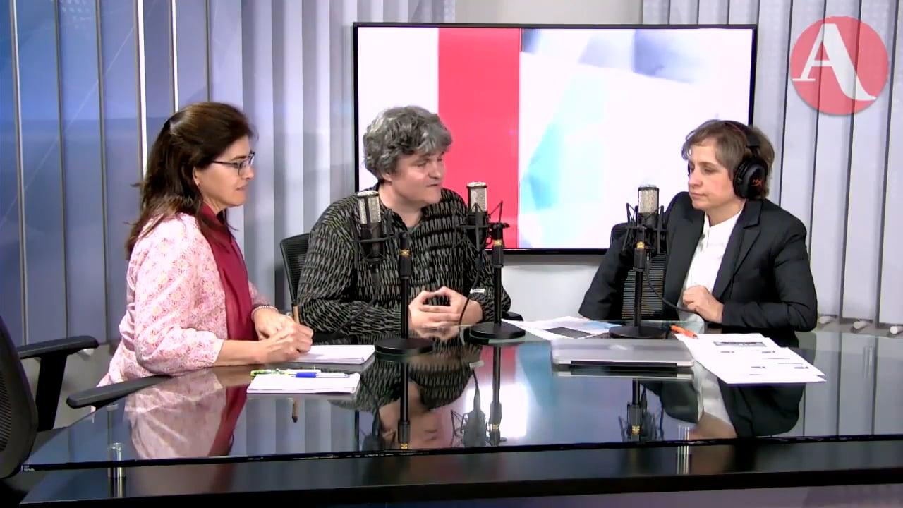 Tear Down This Wall: Markus in Carmen Aristegui's show