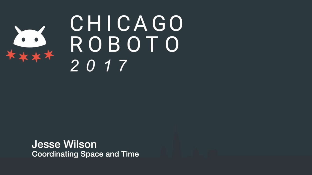 Jesse Wilson - Coordinating Space and Time