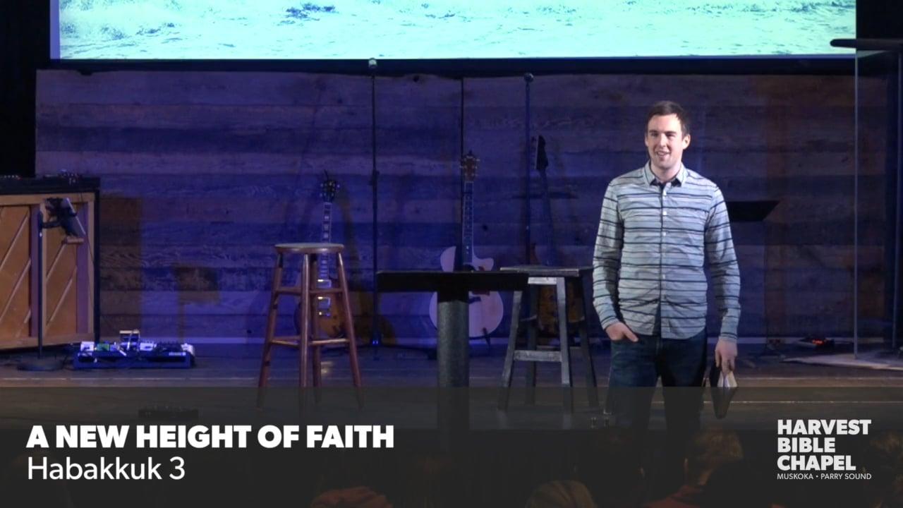 The New Height Of Faith