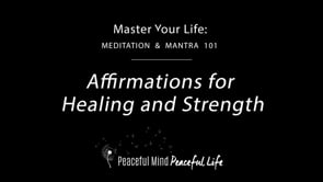 Affirmations for Healing and Strength