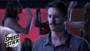 "Speed Stick: ""Dancing Mustache"""
