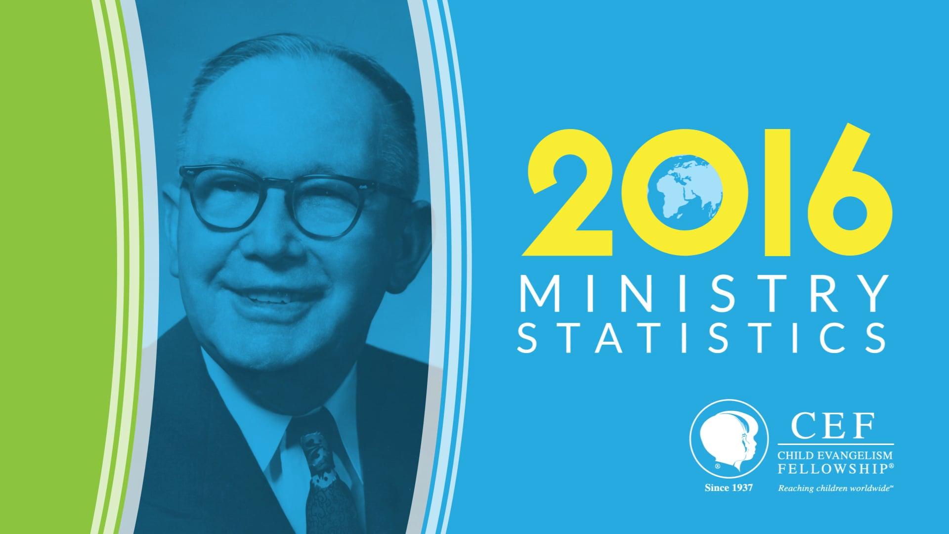 Ministry Statistics 2017