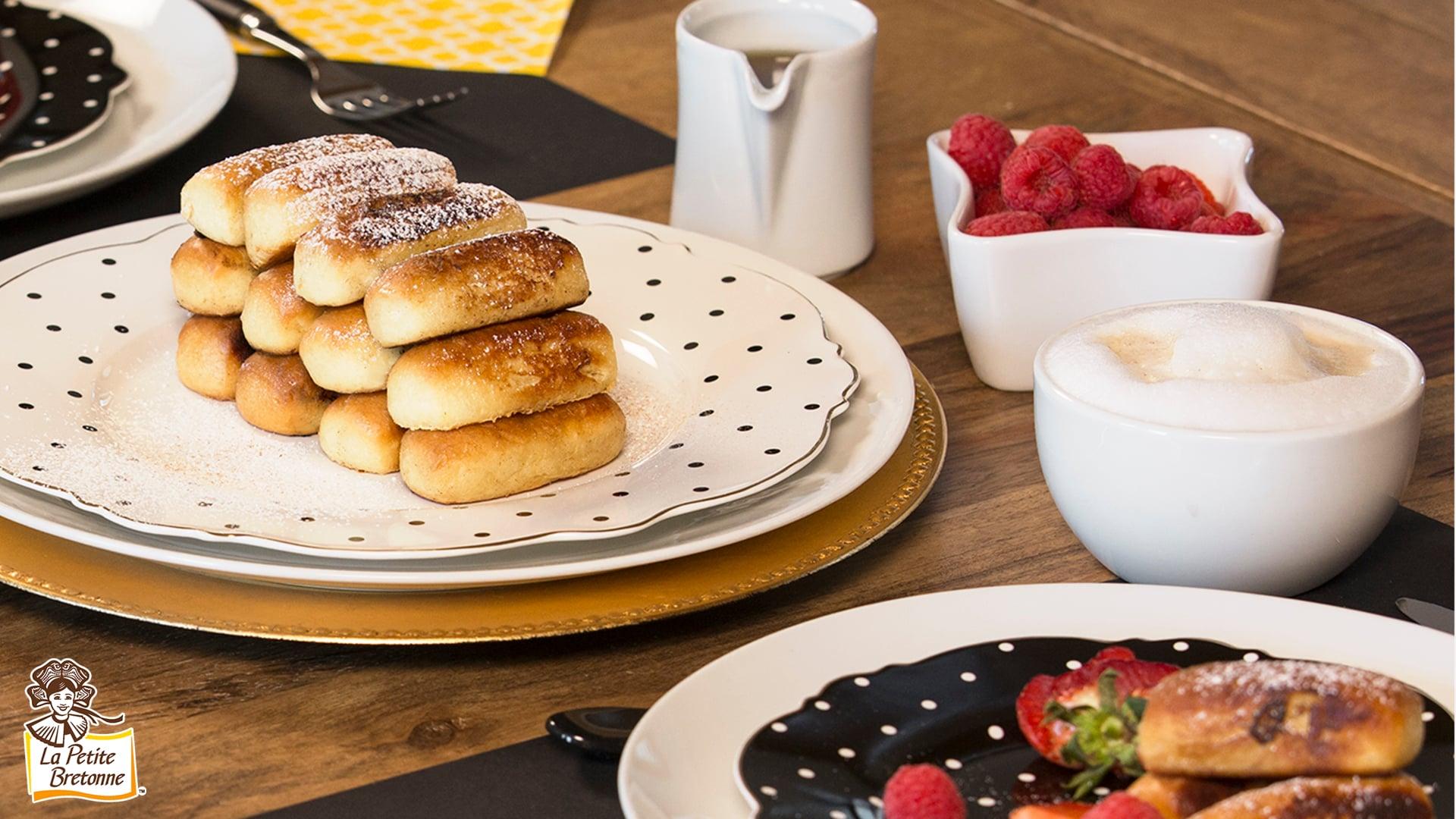 La Petite Bretonne - Mini pain doré - Recette