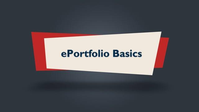 Brightspace Orientation 18_ePortfolio Basics