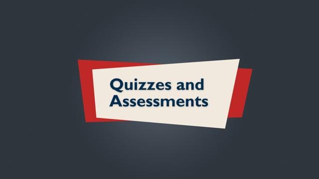Brightspace Orientation 13_Quizzes & Assessments