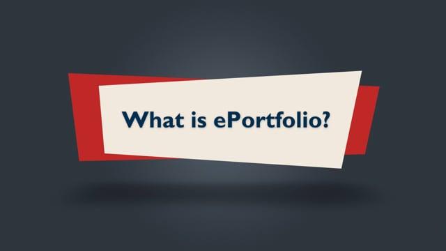 Brightspace Orientation 17_What is ePortfolio?