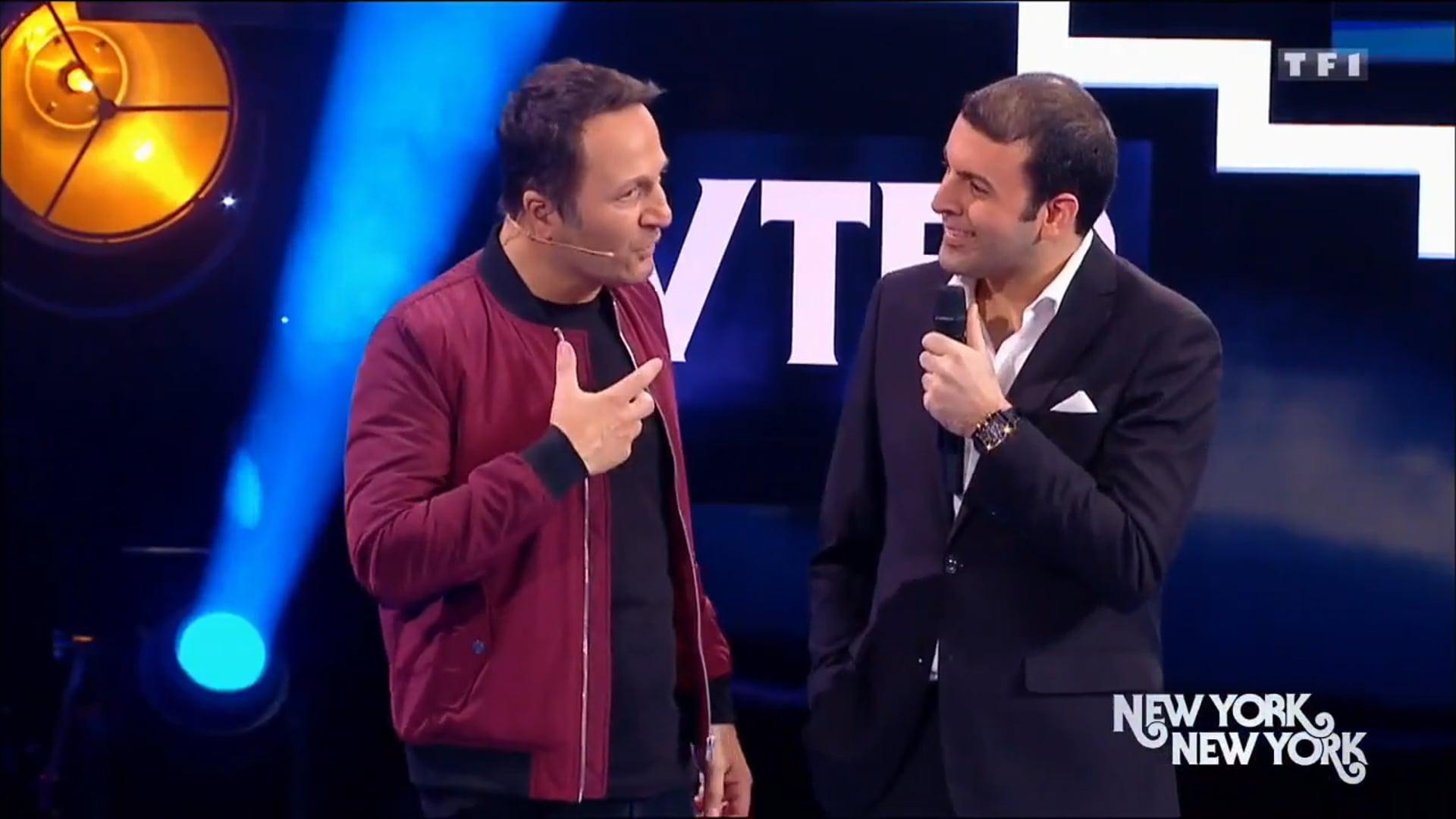 DAVID SERERO dans VENDREDI TOUT EST PERMIS sur TF1 - Special NEW YORK