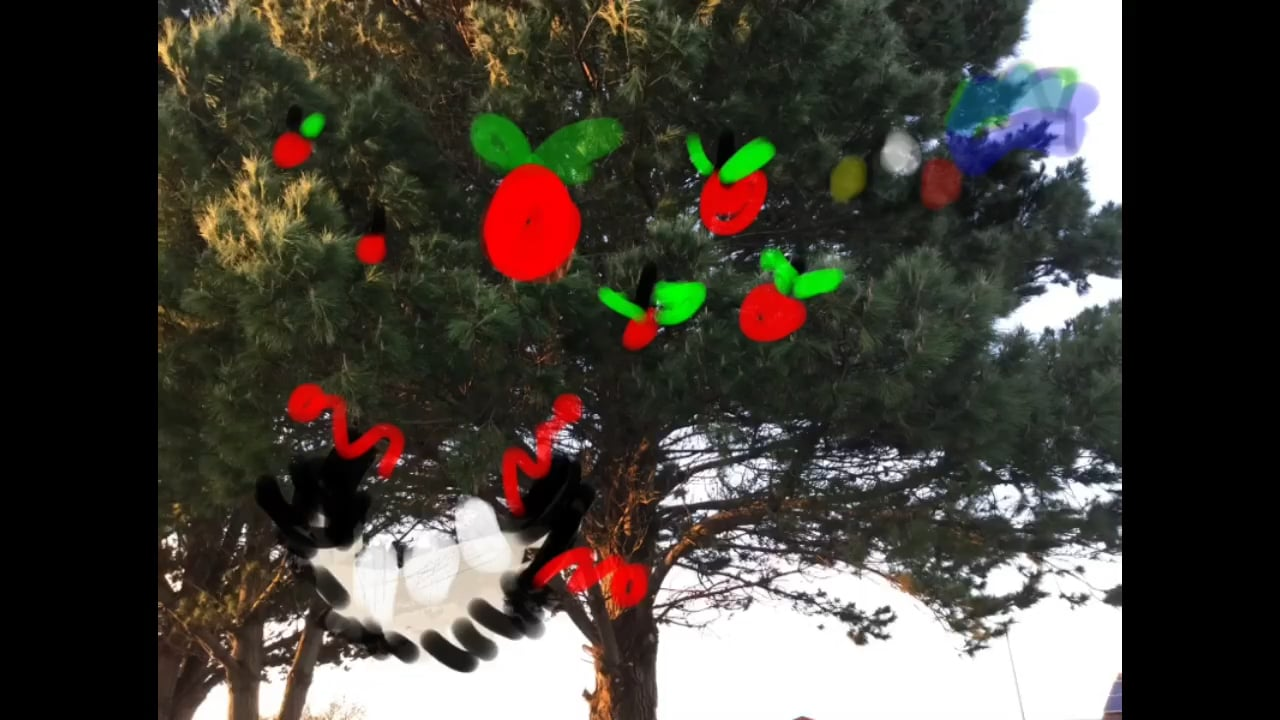 Bird Takes Apple by Ella