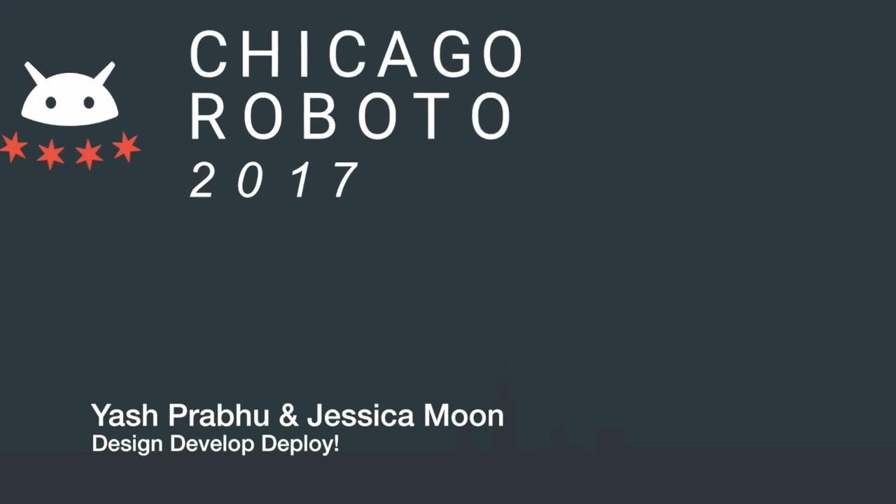 Yash Prabhu & Jessica Moon - Design Develop Deploy!