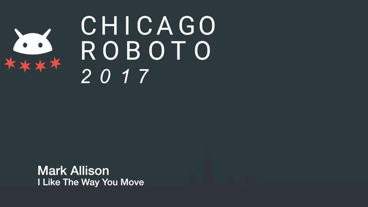 Mark Allison - I Like The Way You Move