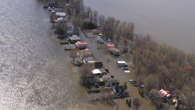 Reportage : État de la situation des inondations (Zone 15 mai mai 2017 p.01)