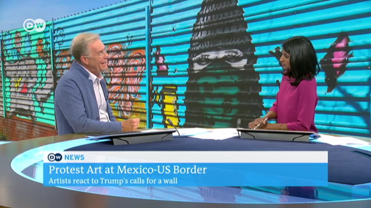 Tear Down This Wall: Deutsche Welle Culture Broadcast 'Concert and Perfomances on US-Mexican Border'