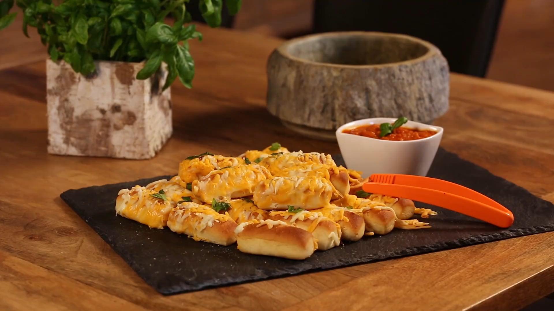 La Petite Bretonne - Mini pain pizza - Recette