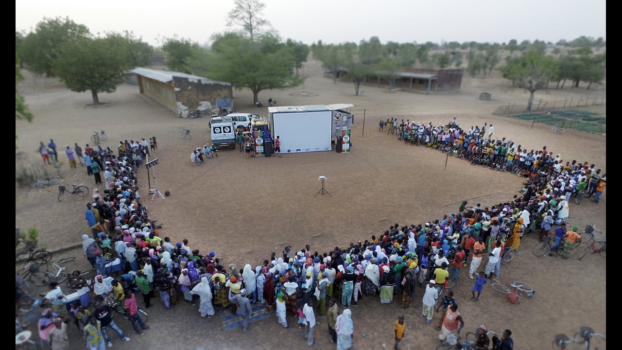 CinemArena Burkina Faso - short version IT