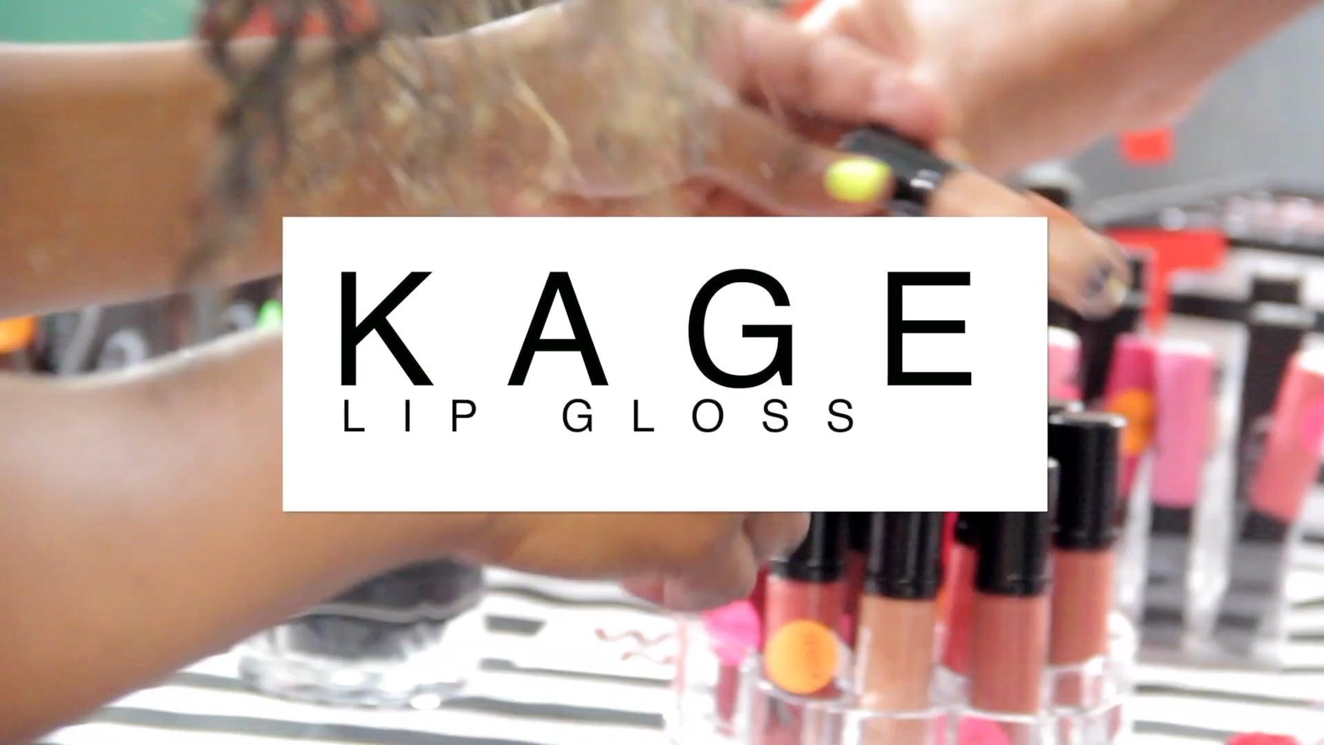 Kage Lip Gloss Live Vendor Experience