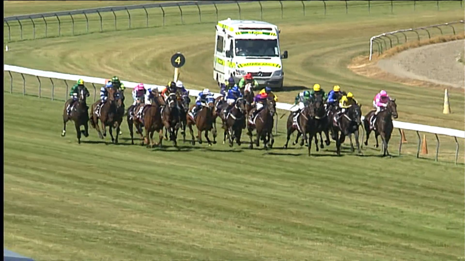 Puccini Wins the Gr.1 Thorndon Mile