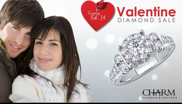 Charm Diamonds Retail Digital signage Demo animation