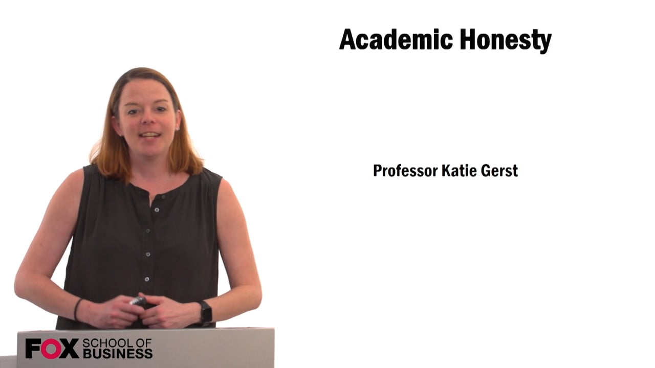 59688Academic Honesty