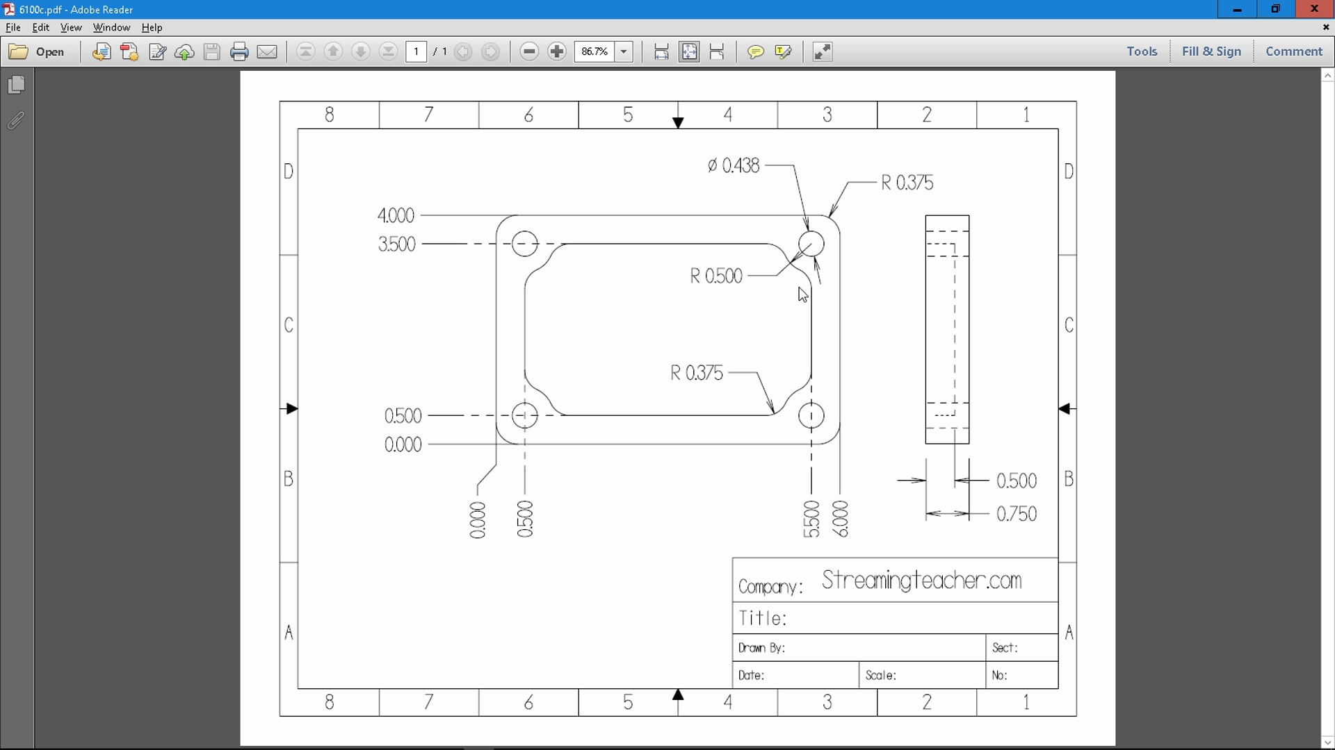 Getting Started Projects - CAD