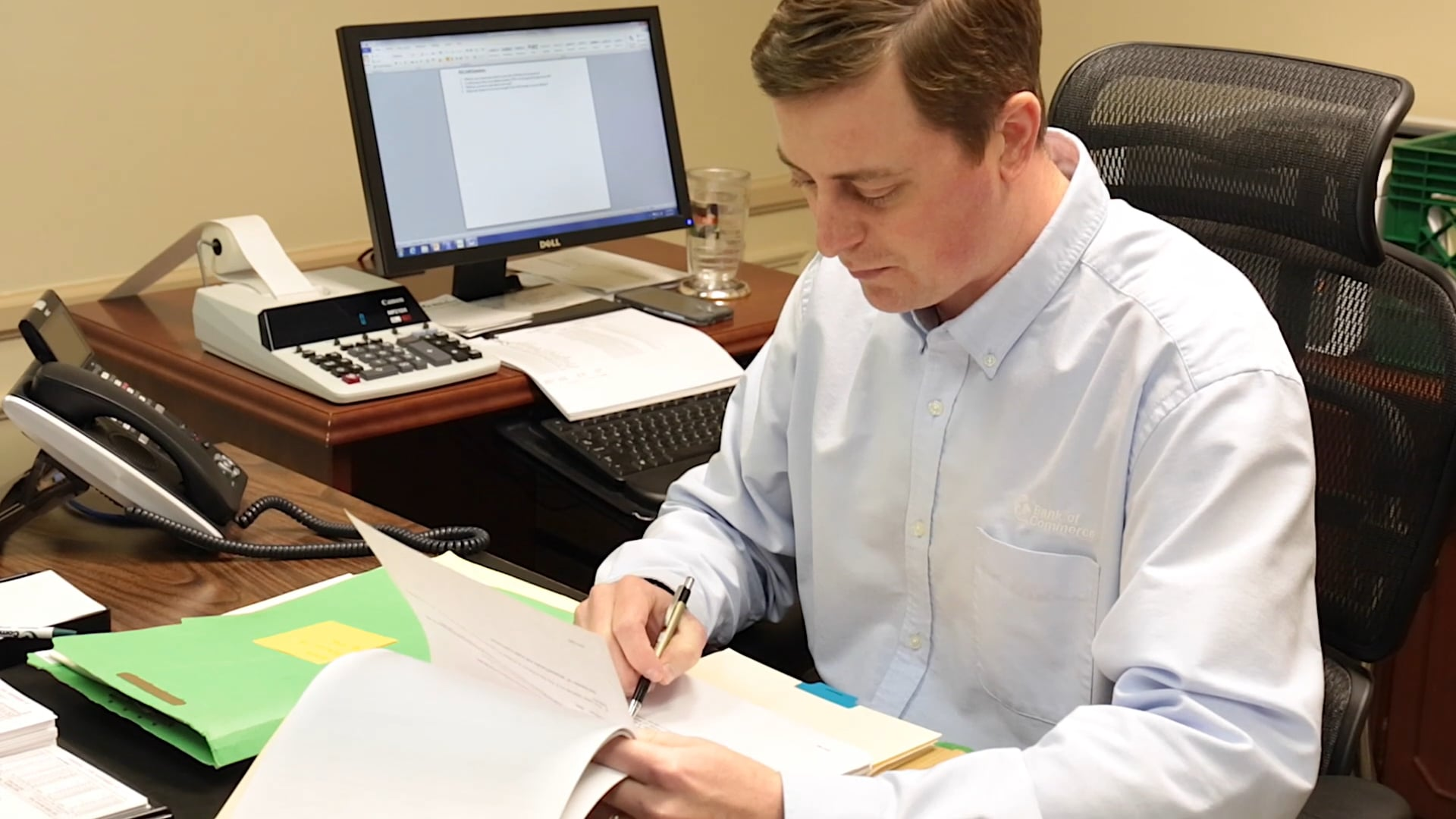 Meet Justin Braswell, team member at Bank of Commerce in Greenwood, MS.