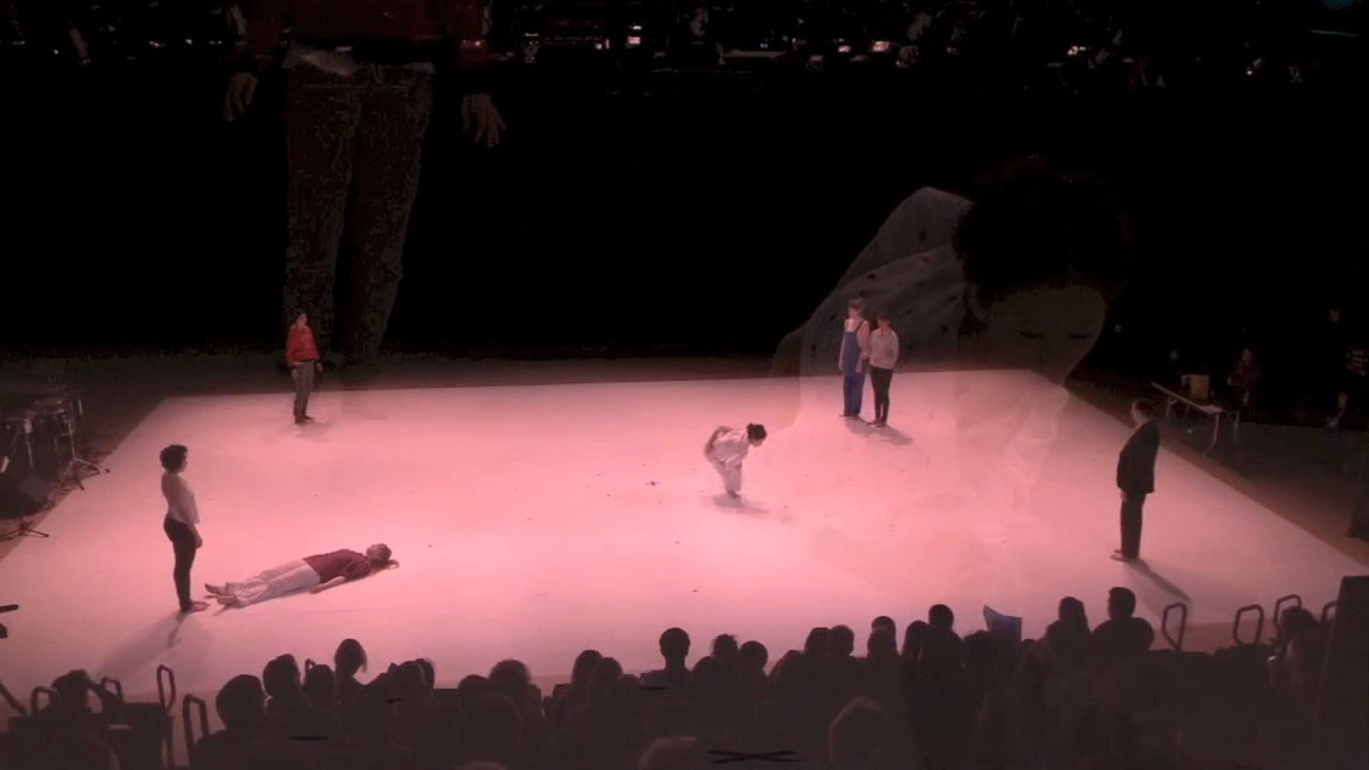KATY DAMMERS ON E-V-E-R-Y-O-N-E BY THE COMMONS CHOIR / DARIA FAïN AND ROBERT KOCIK NEW YORK LIVE ARTS, MARCH 2013