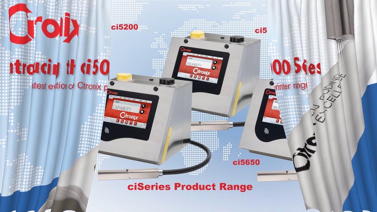 Nieuwe  Citronix Ci5000 klein karakter inkjet printer