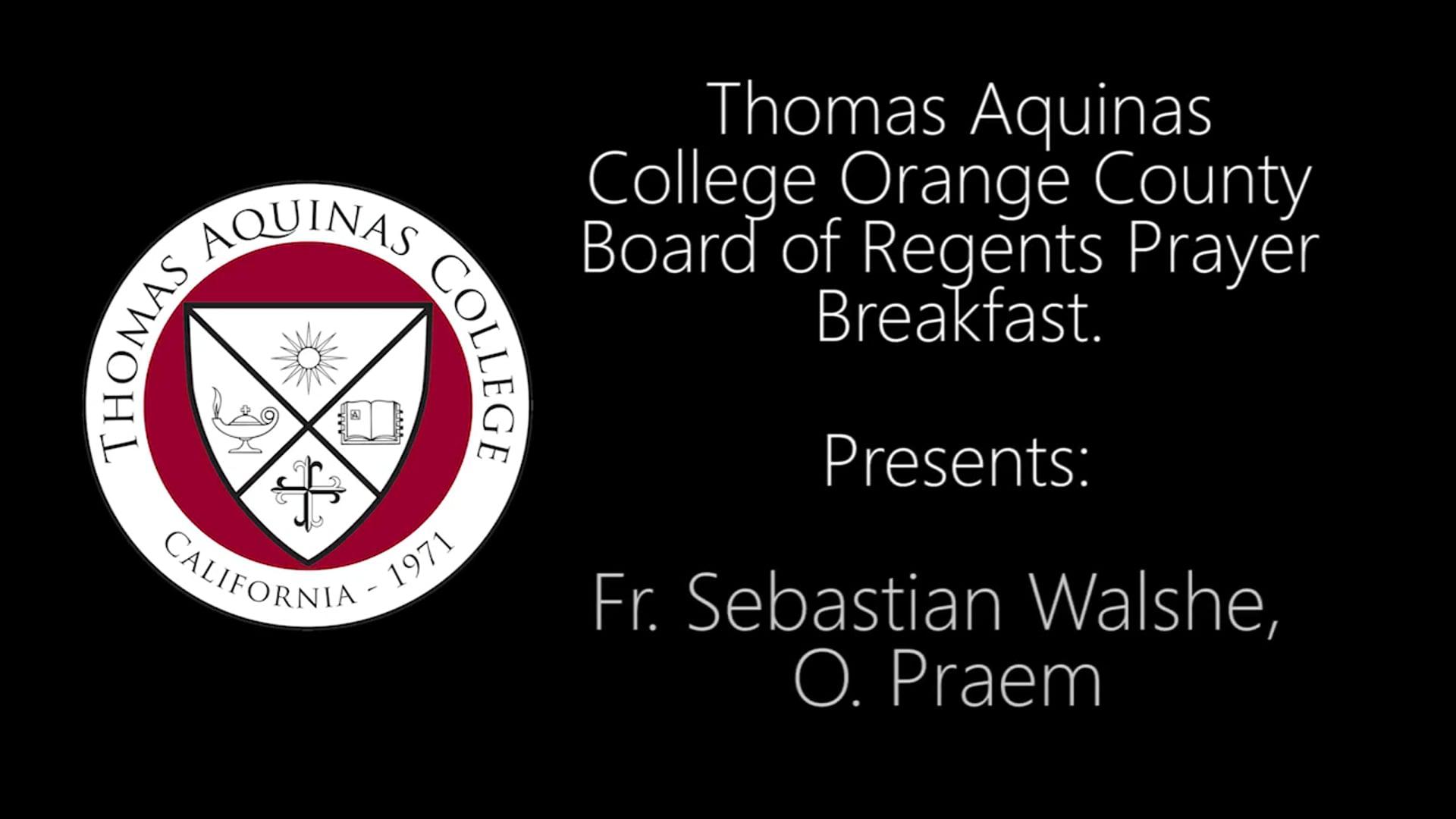 Fr Sebastian Walshe