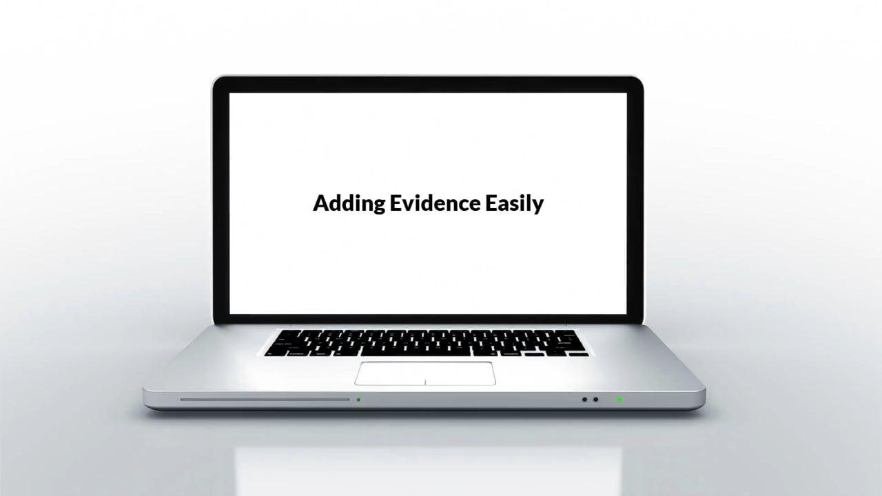 Adding Evidence Easily - Edufolios