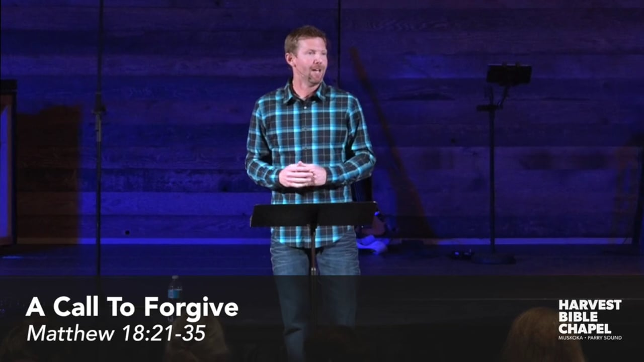 A Call To Forgive