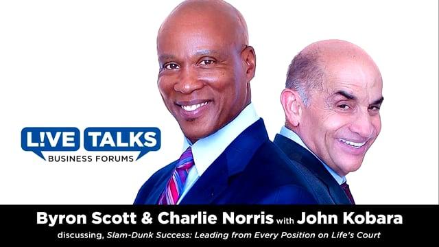 Byron Scott & Charlie Norris in conversation with John E. Kobara