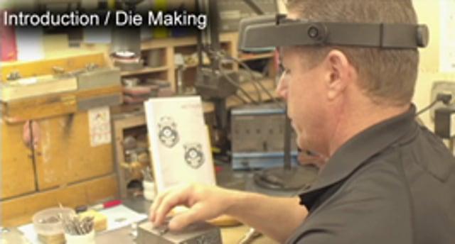 #BadgeBuild Die Making