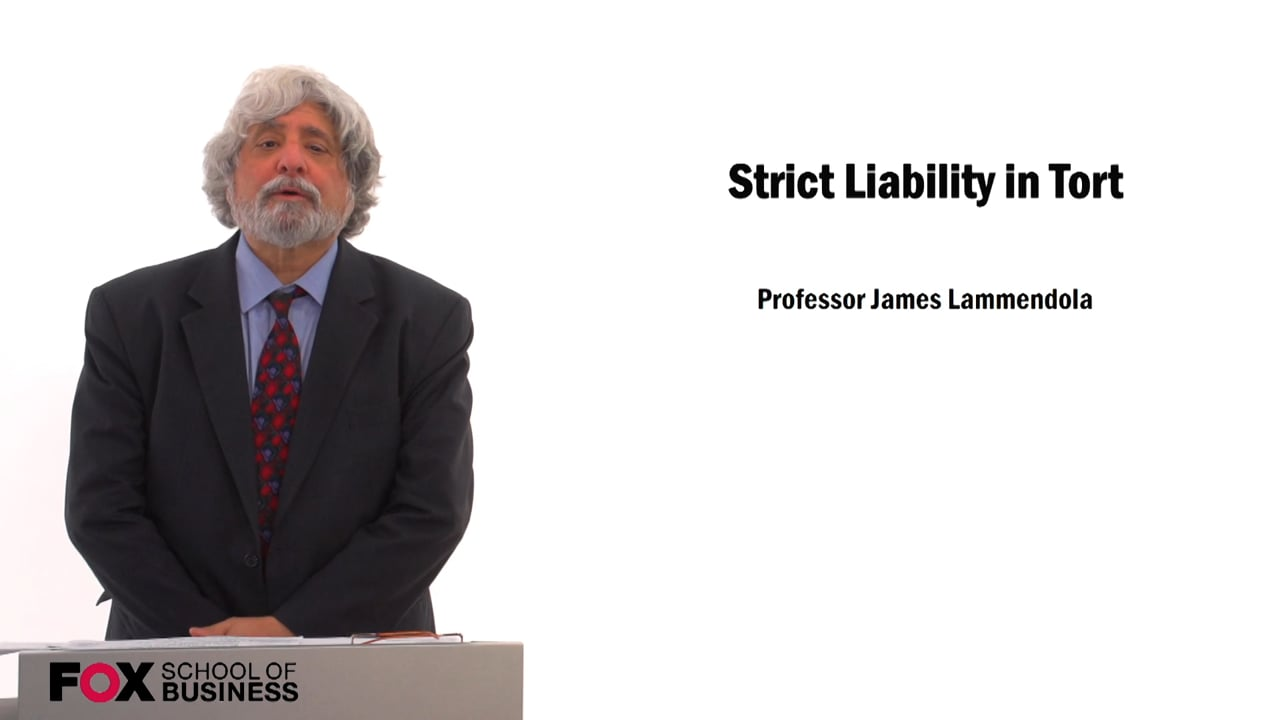 59736Strict Liability in Tort