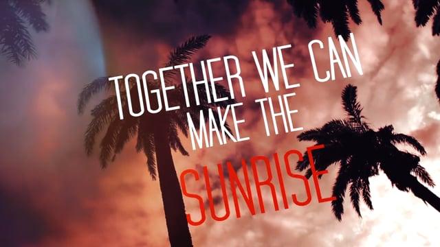 RUI DA SILVA feat. Wesley Steed - SUNRISE (Official Lyrics Video)