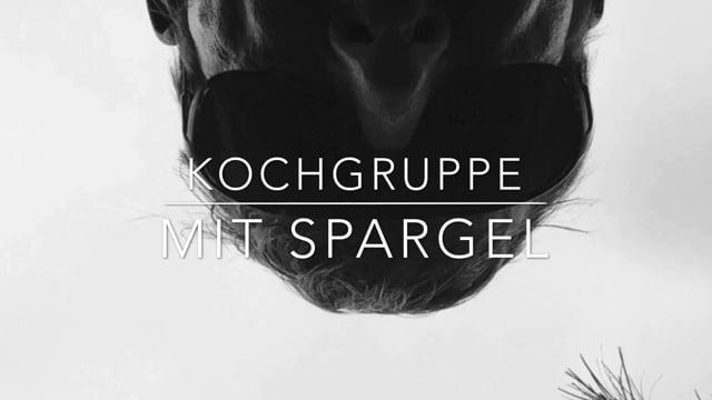 Kochgruppe mit Niedersächsischen Spargel, 1.6.2017
