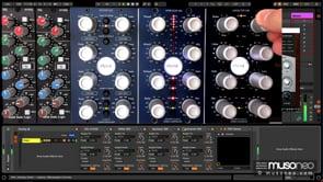 Saturacja i przestrzeń stereo na grupie wokali