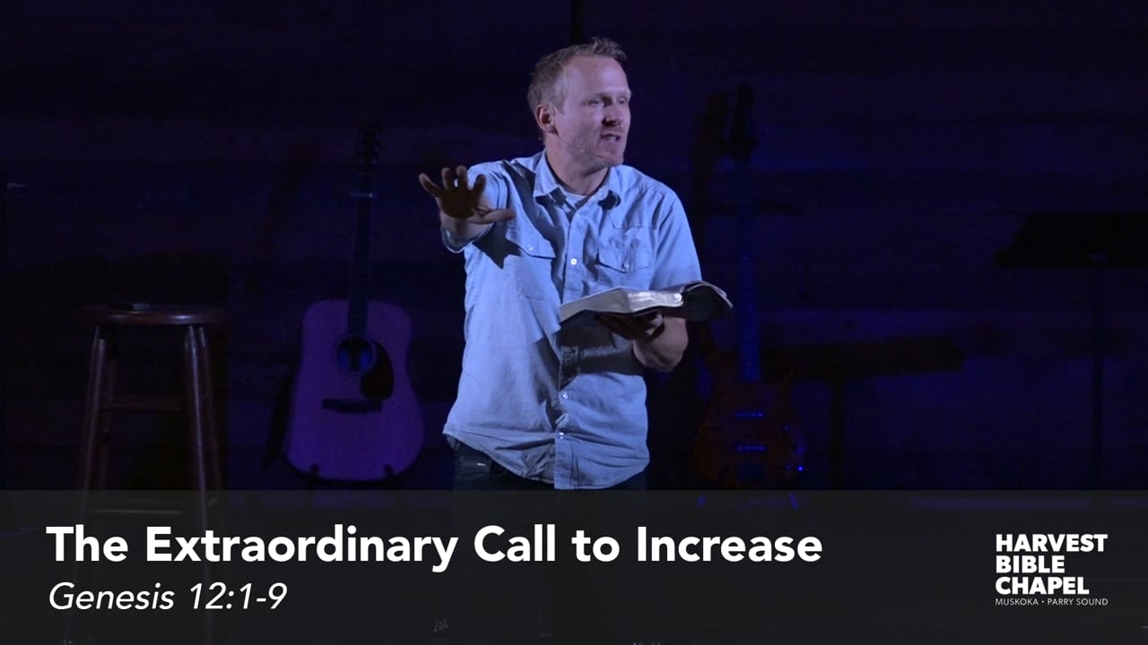 The Extraordinary Call to Increase