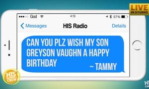 Happy Birthday Greyson! He's Turning 8 Today!