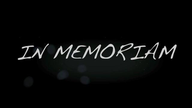 Parnelli 2015 In Memoriam Video