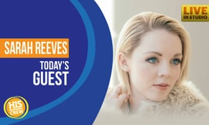 Sarah Reeves Sings Her New Song Live on HIS Morning Crew!!