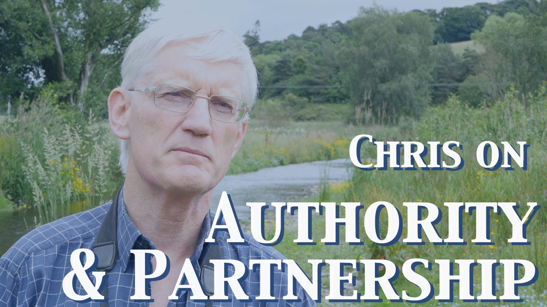 Chris on Authorities
