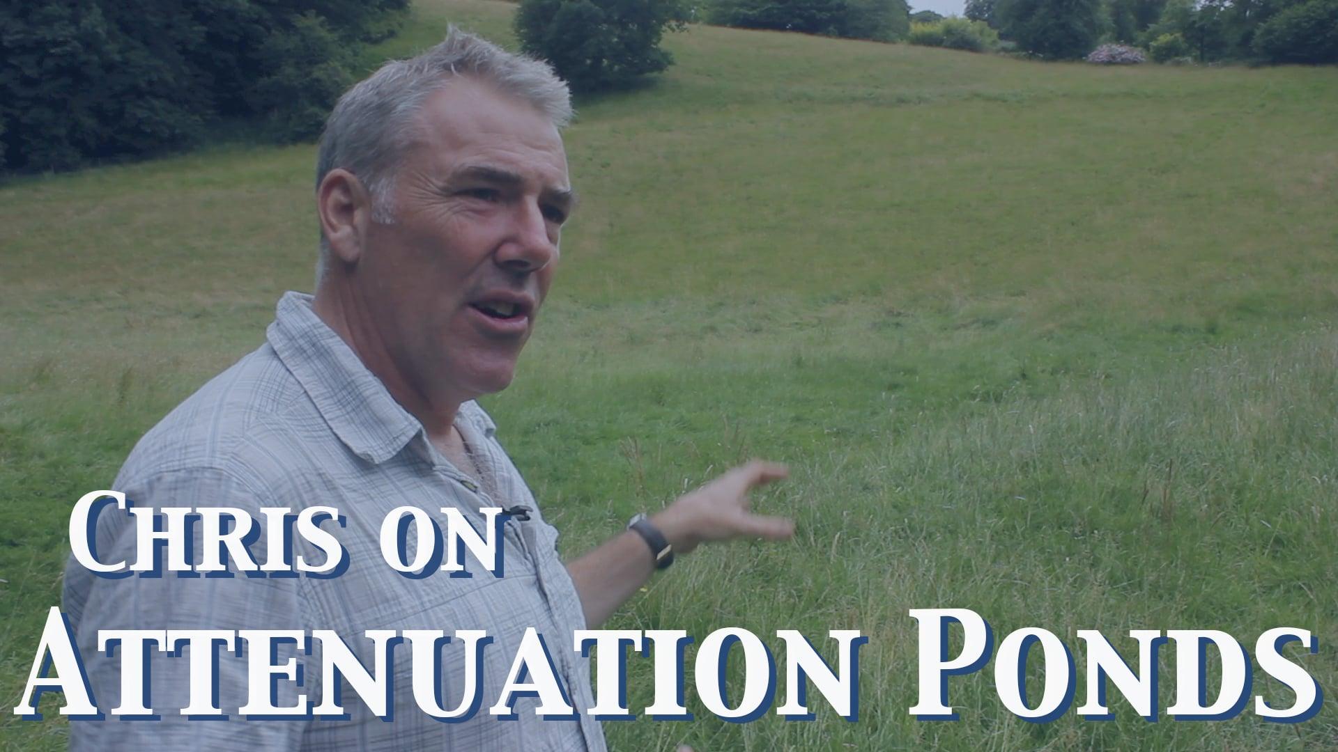 Chris on Attenuation Ponds
