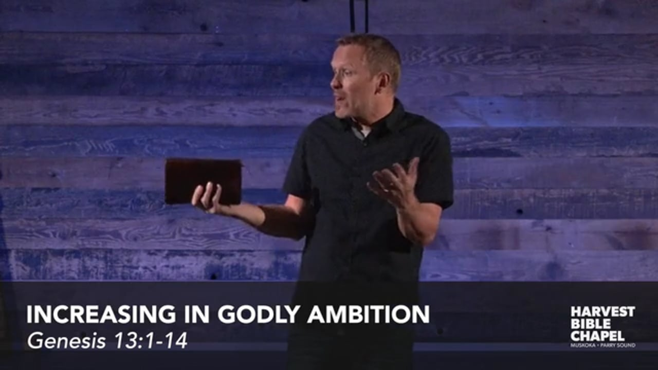 Increasing In Godly Ambition