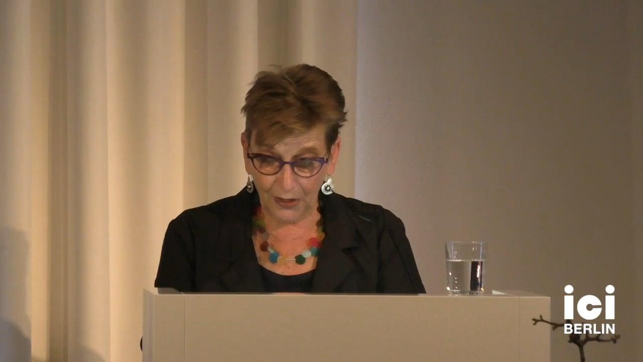 Talk by Marianne Hirsch