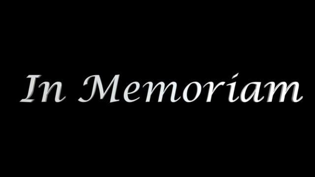 Parnelli In Memoriam 2016