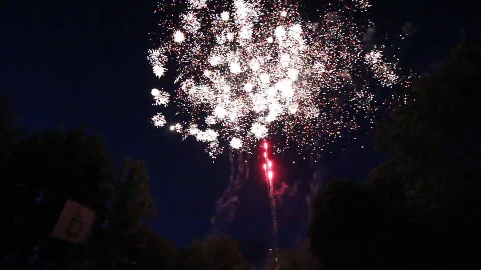 2017.06.10 - Zagyvaszántó tűzijáték videó